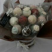 Image of Vintage Lace Cake Pop Bouquet
