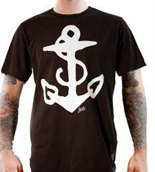 Image of Sailor Jerry Men's T-shirt - Anchor Tee