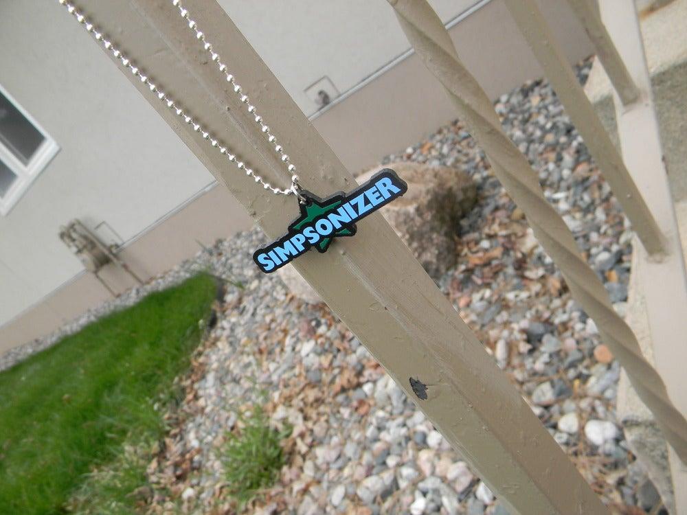 Image of Blue/Green - Simpsonizer Necklace - Cody Simpson