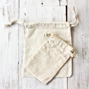 Image of Cotton Drawstring Bag