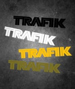 Image of TRAFIK VINYL BIKE DECAL