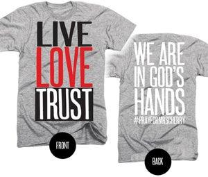 Image of #prayformrscherry Tshirt YS-AXL