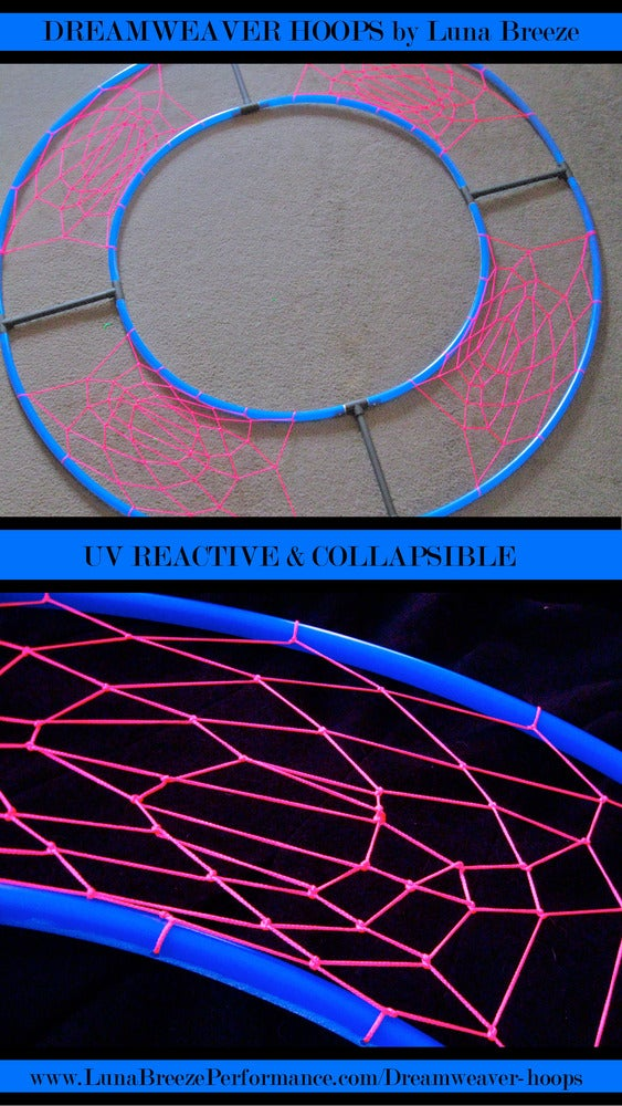 Image of MEDIUM UV reactive DreamWeaver (FREE SHIPPING)