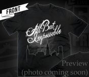 Image of All But Impossible Black T-Shirt