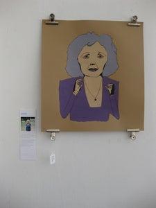 Image of Edith Piaf Screenprint