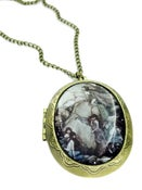 Image of Fairies on The Rocks Cameo Locket
