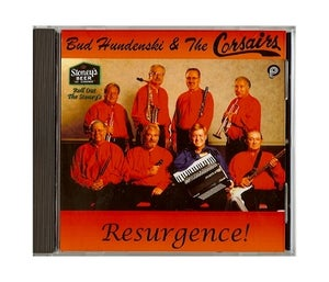 Image of Bud Hudenski & the Corsairs- Resurgence! CD