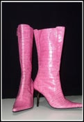 Image of Steve Madden Pink Leather Boots