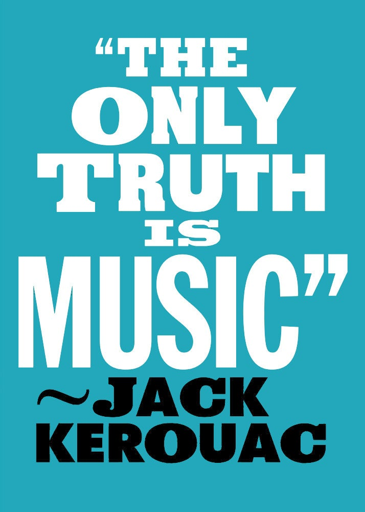 Image of The only truth is music