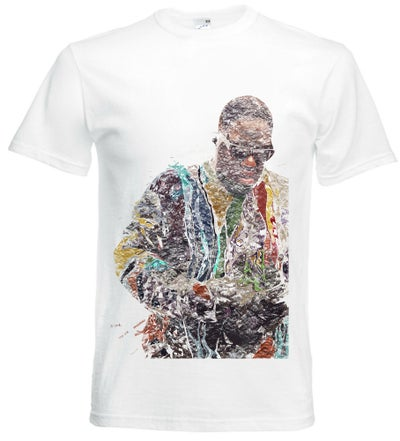 Image of *top seller* Biggie Smalls Typography T-Shirt Design Unisex [ Notorious B.I.G ]