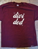 Image of The Divided OG Tee in Maroon (XL ONLY)