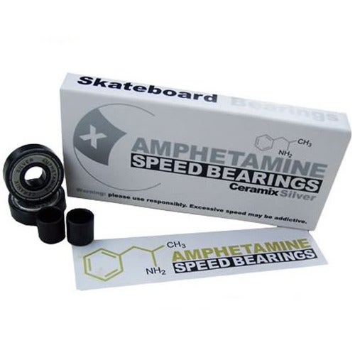 Image of AMPHETAMINE SILVER CERAMIX BEARINGS