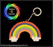 Image of RainBow Key Chain