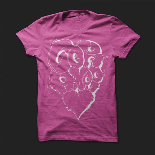 Image of Graffiti Tee - Pink (Ladies)