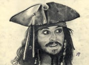 Image of Captain Jack Sparrow ~ Johnny Depp