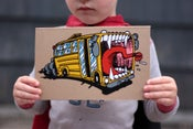 Image of School Bus Sketch Book