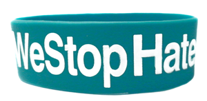 Image of We Stop Hate - Blue (2 PACK)
