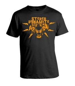 Image of Stereo Dynamite Tiger Logo Mens T-Shirt