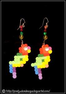 Image of Parrot earrings