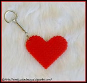 Image of Heart Key Chain