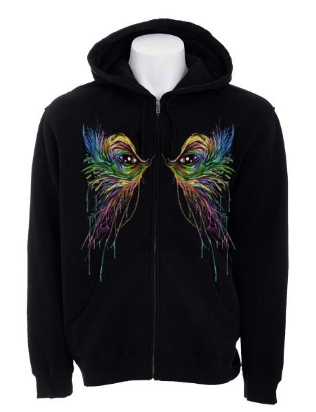 Image of We Once Were Peacocks | By Alex Pardee | Hoodie