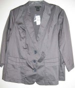 Image of Lane Bryant Gray Blazer 18/20