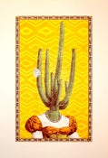 Image of Cactus Head Lady by Nate Duval