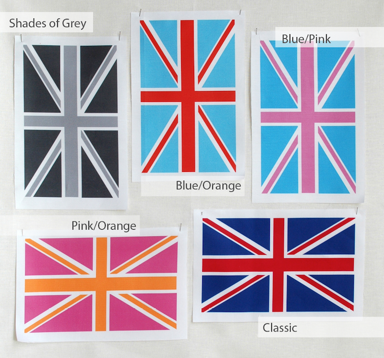 Image of Union Jack Cuts - Individual