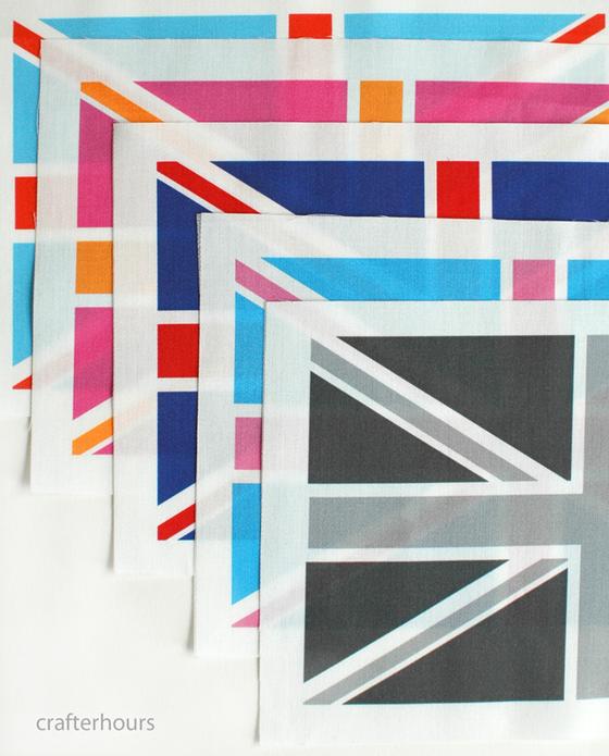Image of Union Jack Cuts - Individual