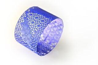 Image of 3d dentelle/lace bracelet