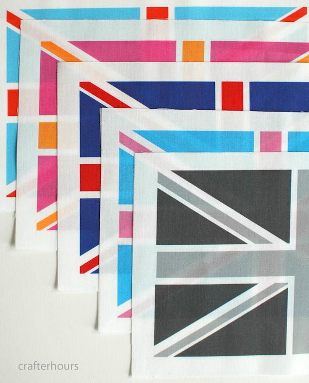 Image of Union Jack Cuts - Bundles of 9