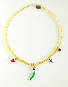 Image of Harvest Skull Necklace