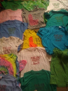 Image of Oakland Nights...live! T-shirts