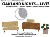 Image of Oakland Nights...live! posters