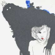"Image of ""BELLA Y BESTIA"" Limited Edition Screenprint by Conrad Roset"