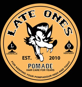 Image of wolf pomade shirt