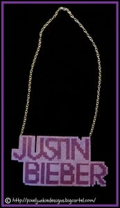Image of Justin Bieber Chain