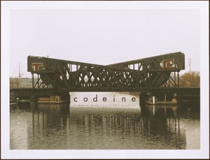 Image of Codeine Barcelona 2012 poster