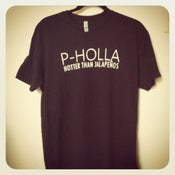Image of Black P-Holla Shirt