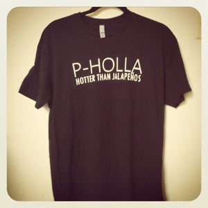 Image of Black P-Holla Shirt