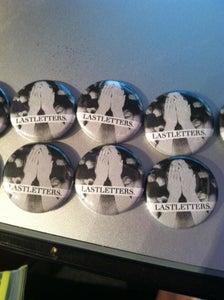"Image of Lastletters. ""Petals"" Buttons"