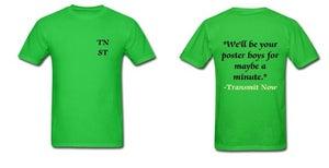Image of Transmit Now Lyric Shirt- Men