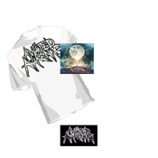 Image of CATHARSIS FULL LENGTH CD/ WHITE SHIRT BUNDLE