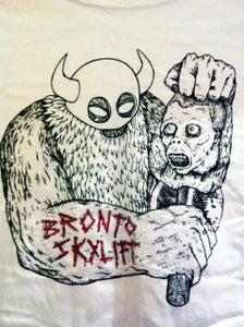 Image of  BRONTO VIKING TEE (white)