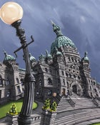 Image of BC Legislature Limited Edition Giclee