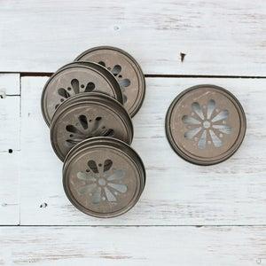 Image of Decorative Jar Lids