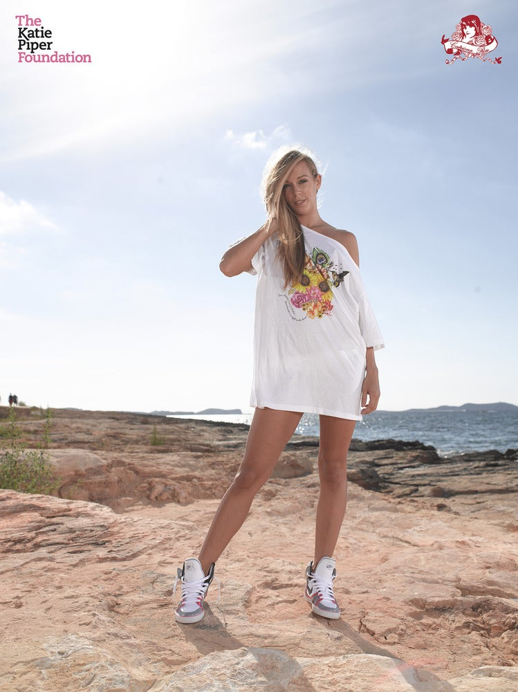 Image of Katie Piper Tshirt in White