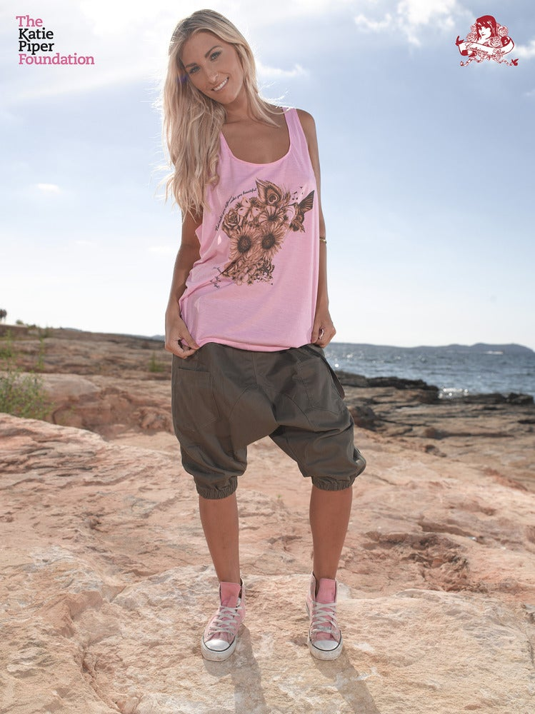 Image of Katie Piper Vest in Pale Pink