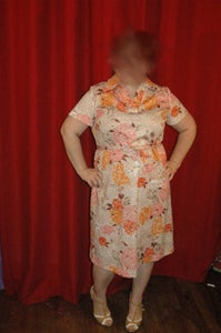 Image of Plus Size Floral Day Dress