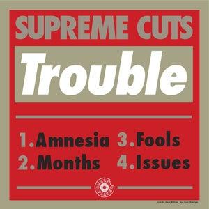 "Image of Supreme Cuts ""Trouble EP"" (SPR004)"